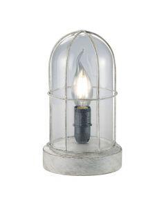 Trio Birte 503800161 tafellamp grijs