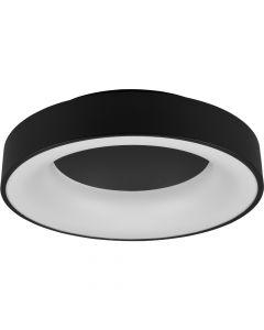 Plafondlamp Girona zwart 45cm