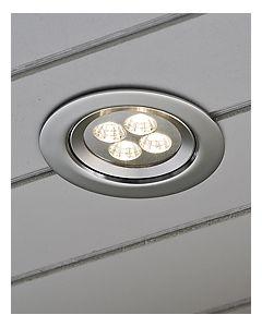 Konstsmide LED 7097-000 inbouwspot aluminium