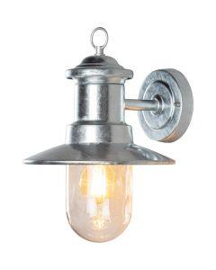 Wandlamp Napoli gegalvaniseerd 31cm