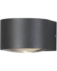 Wandlamp Gela antraciet 7cm