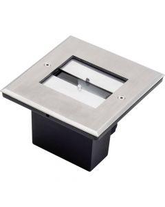 Konstsmide 6W LED 7960-310 grondspot staal