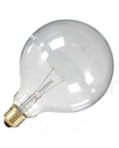 Globelamp Gloeilamp E27 230V 40W 95mm helder
