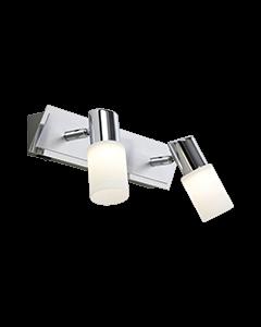 Trio twinspot LED serie 8214 geborsteld aluminium
