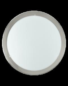 Eglo Planet wandlamp Basic 82942 nikkel wit
