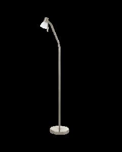 Eglo Prince 1 Vloerlamp Basic 86431 nikkel