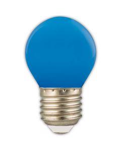 P45 E27 LED kogel 1w (15w) blauw