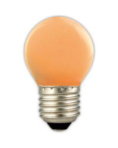 P45 E27 LED kogel 1w (15w) oranje