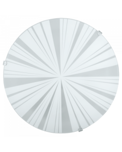 Eglo Mars 1 wandlamp Basic 89239 wit met stralen