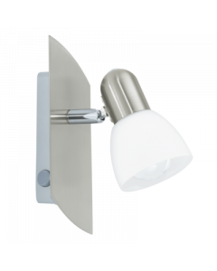 Eglo Enea Opbouwspot Basic 90982 nikkel wit