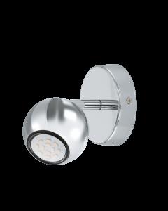 Eglo Sancho 1 LED wandlamp 92535 chroom