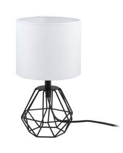 Eglo Carlton 95789 tafellamp zwart