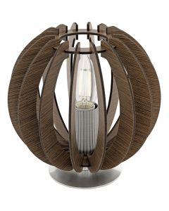 Eglo Cossano 95793 tafellamp bruin