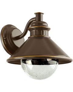Eglo Albacete 96262 wandlamp bruin