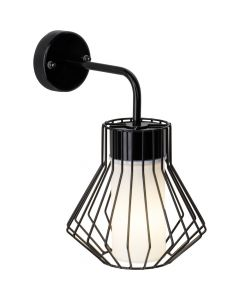Brilliant Dalmext 96326/76 wandlamp zwart