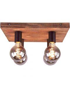 Plafondlamp Panto 97091/46 bruin 38cm