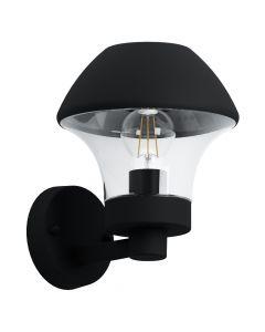 Eglo Verlucca 97244 wandlamp zwart