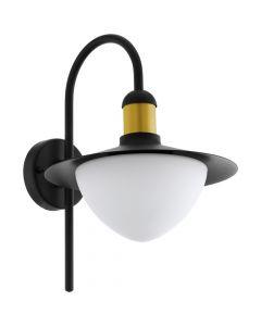 Eglo Sirmione 97285 wandlamp zwart