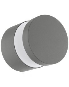 Eglo Melzo 97301 wandlamp zilver