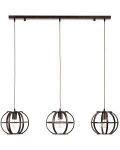 Hanglamp Basia staal 105cm
