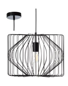 Hanglamp Bodden zwart 40cm