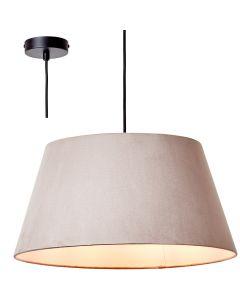 Hanglamp Brok taupe 50cm