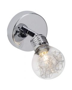 Brilliant Bulb 21210/15 wandlamp chroom