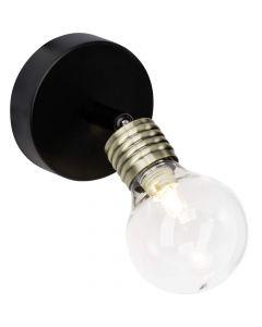Brilliant Bulb 21210/76 wandlamp zwart