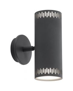 Brilliant Cavi G73192/22 wandlamp antraciet