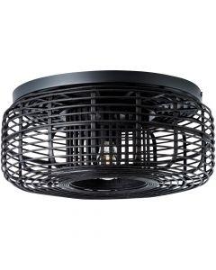 Plafondlamp Crosstown zwart 45cm