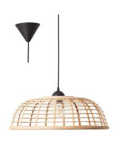 Hanglamp Crosstown bruin 48cm