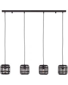 Hanglamp Crosstown zwart 110cm