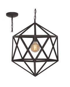 Freelight Cubo H5672Z hanglamp zwart