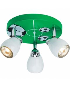Brilliant Soccer G56234/74 plafondlamp groen