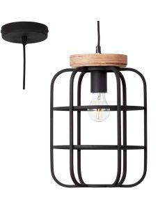 Hanglamp Gwen zwart 25cm