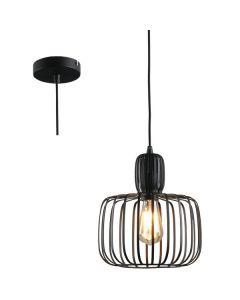 Hanglamp Costola H3625Z zwart 25cm