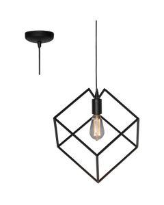 Hanglamp Angolo H3910Z zwart 25cm