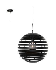 Hanglamp Nettuno H4330Z zwart 30cm