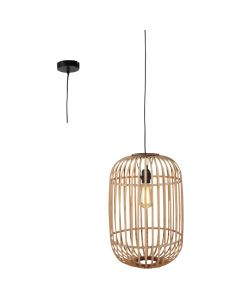 Hanglamp Treccia H5401H rotan 34cm