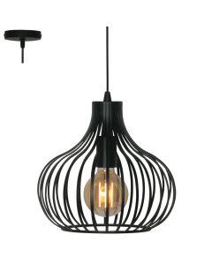Freelight Aglio H7841Z hanglamp zwart