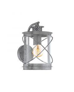 Eglo Hilburn 94866 wandlamp zilver