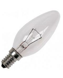 Kaarslamp Gloeilamp E14 230V 60W helder