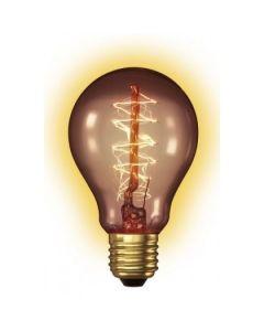 Kooldraad Gloeilamp E27 60W Standaardlamp goud