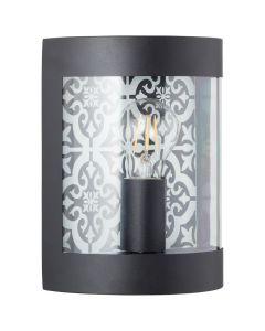 Brilliant Lison 96354/06 wandlamp zwart