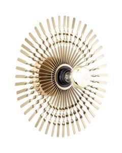 Wandlamp Mendoza goud 33cm