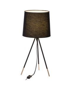 Brilliant Miccado 98955/76 tafellamp zwart