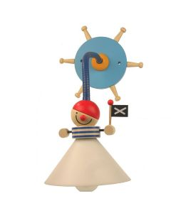 Niermann Piraten wandlamp 347 blauw