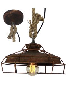 Brilliant Peter 93319/60 hanglamp roest