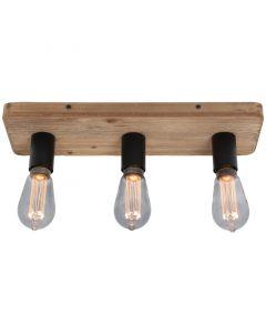 Plafondlamp Lenero PL2730Z hout 45cm