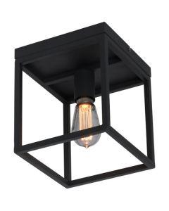 Plafondlamp Novanta PL9010Z zwart 22cm